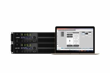 L-Acoustics LA12X a LA4X, řízené LA Network Managerem podporují AVB