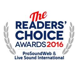 ProSoundWeb Readers' Choice 2016